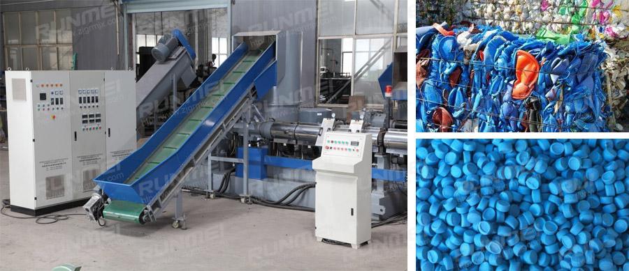 废塑料造粒机